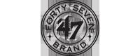 Slevy na zboží značky 47 Brand