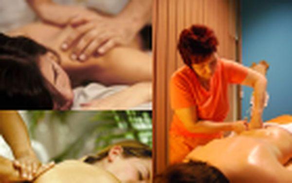 250 Kč za profesionální masáž dle vlastního výběru v hodnotě 600 Kč.