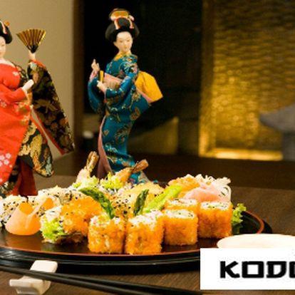 Zažijte večer plný japonských specialit! Restaurace KODO s 50% slevou! Zaplaťte 500 Kč, snězte za 1000 Kč!