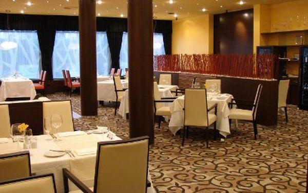 Bohaté pětichodové degustační menu pro fajnšmekry s lahví značkového vína PRO DVA v restaurantu A LA CARTE - OREA Hotel Voroněž I**** za 480 Kč místo 960 Kč!