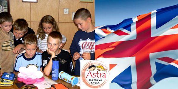 Kurzy angličtiny pro děti od 3 do 13 let s akční last minute slevou 30%. Dopřejte svým dětem to nejdůležitější - vzdělání.