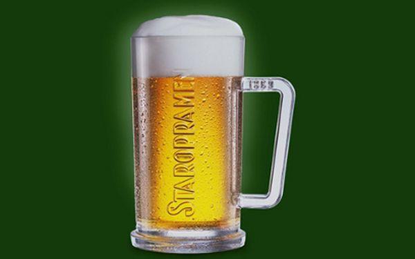 Hospodská klasika za parádní cenu! Tři piva a utopenec za 55 Kč!!! Pojďte se pobavit po česku a za pakatel!
