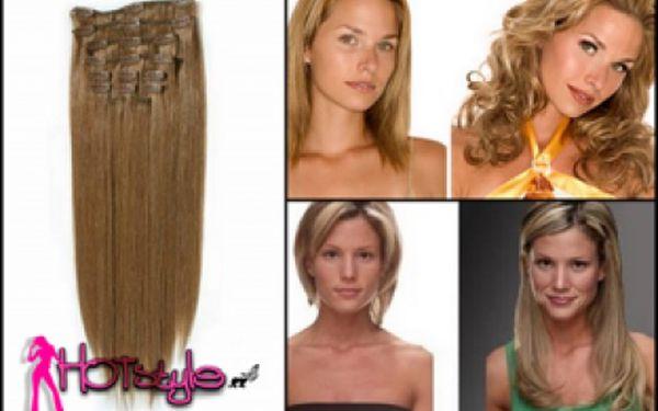 Prodlužte si vlasy jednoduše za pár minut metodou clip-in! 1399 Kč za pravé vlasy dle vašeho výběru. Sleva 43%