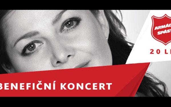 75 Kč za vstupenku na benefiční koncert u příležitosti výročí 20 let Armády spásy v České Republice. Přispějte na dobrou věc!