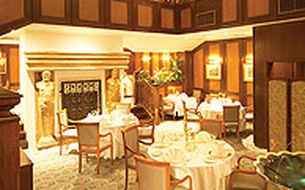3-chodové menu v Gourmet Clubu (pro dva) - Vychutnejte si vynikající 3-chodové gurmánské menu pro 2, které zahrnuje 2 skleničky sektu a výtisk kuchařky sepsané vrchními šéfkuchaři skupiny Vienna International Hotel.