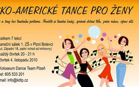 Jen 100 Kč za poukaz pro DVĚ ženy na lekci Latinsko-amerických tanců v Koloseum Dance Team Plzeň! Přijďte si s kamarádkou užít hodně zábavy a rozvlňte se do žhavých latinských rytmů, které z Vás udělají smyslnou tanečnici! Čistě dámská taneční skupinka! S