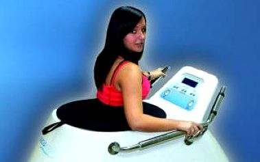 Sleva na 1 vstup na přístroj VacuWell: Spalovač tuků pro břicho, nohy a hýždě. Cena po slevě pouze 120 Kč.