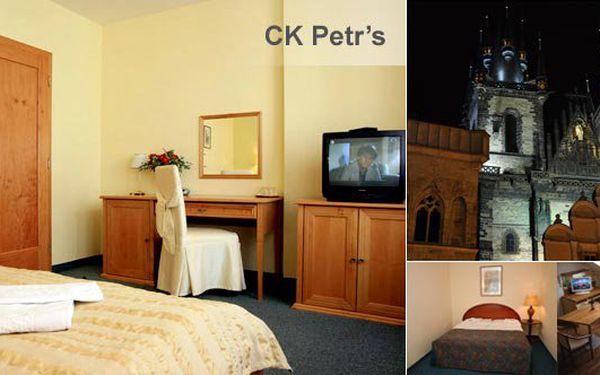Ubytujte se v centru Prahy s 50% slevou. Za pouhých 600 Kč dostanete dvoulůžkový pokoj v původní hodnotě 1200 Kč pro 2 osoby a můžete tak zažít atmosféru vánoční Prahy a jejich kouzelných zákoutí. Vyberte si z nabídky 3 hotelů. Původní cena 1200 Kč, po sl