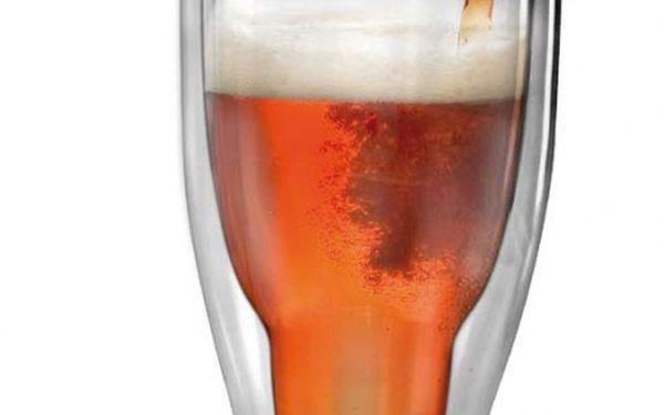 Dokonalý vánoční dárek! Obrácená sklenice na pivo
