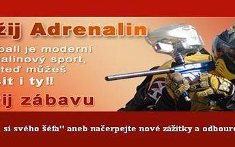 Paintball v Ostravě. Jen 299 Kč,- za správnou dávku adrenalinu. Využijte jedinečné nabídky na oživení svých dnů.