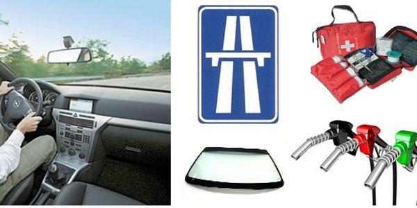 Výměna čelního skla + roční dálniční známka + autolékárnička + 1000Kč na PHM od Autoskla AC! Pro majitele aut s poškozeným předním sklem přinášíme exkluzivní nabídku, na které získáte nejen nové přední sklo, ale i výhody v celkové hodnotě 2351Kč! Tuto nab
