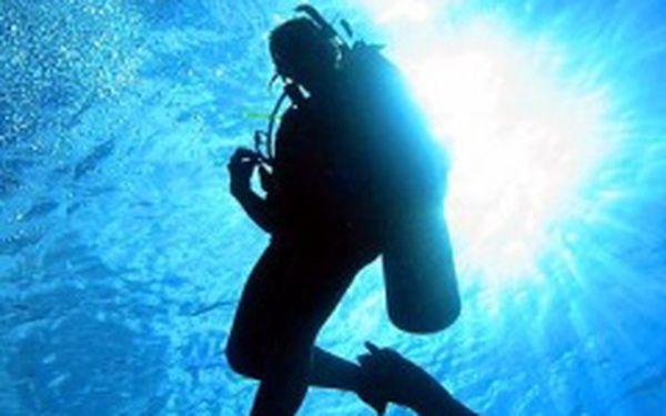 Poznejte krásu hlubin nyní se slevou 50%!!! Zkušební ponor v plné potápěčské výbavě v doprovodu instruktora v Secret of the Sea za 450 Kč!
