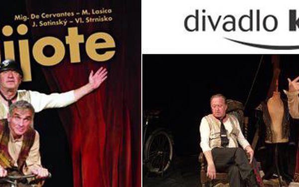 Představení Don Quijote v Divadle Kalich