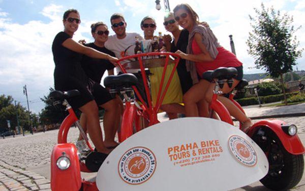 Zažijte party na kole pro sedm lidí! 570,- za nezapomenutelný zážitek i s průvodcem Prahou. TeamBike nemůžete srovnávat a ničím co jste kdy zažili.