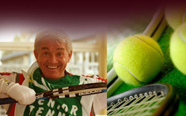 Zlepšete svůj tenisový úder pod vedením profesionálního trenéra se slevou 50% na koučing, pronájem kurtu atenisové míčky
