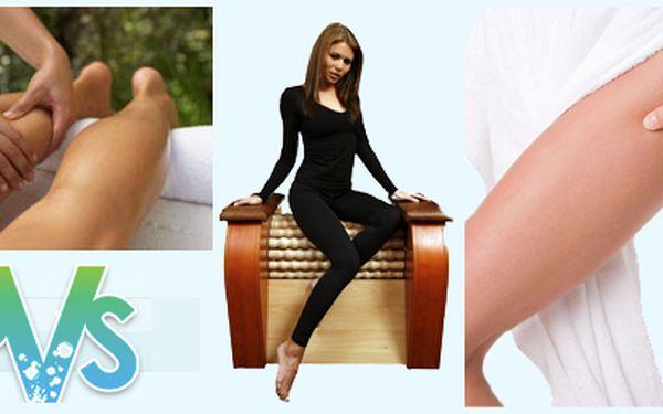 Balíček 3 masáží - ruční lymfodrenáž nohou (2x) + masáž na revolučním přístroji rolletic (60min) za bezkonkurenční cenu 480Kč! Zbavte se celulitidy a škodlivých látek ve Vašem těle, se skvělou slevou 59%!