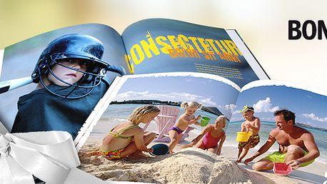 Jen 349 Kč za 32 stránkovou FOTOKNIHU z Vašich fotografií, nejkrásnější dárek pod stromeček Vašim blízkým nebo sobě! Vynikající kvalita knihy v pevných deskách, na které ušetříte 50 %!