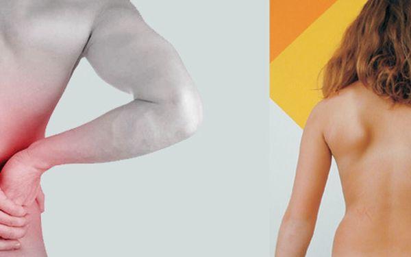 Bolí Vás záda z práce nebo ze sportu? Udělejte něco pro své zdraví, nyní se slevou 40%. Ulevte sobě nebo známým od bolesti za pouhých 299Kč.