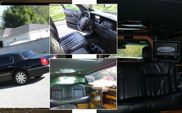 V pátek 26.11.2010 luxusní limuzínou Lincoln na Stodolní a zpět!
