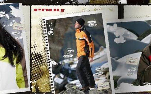 150 Kč za poukázky v hodnotě 500 Kč do obchodů Envy! Neuvěřitelná sleva 70% na outdoorové oblečení švýcarské kvality.