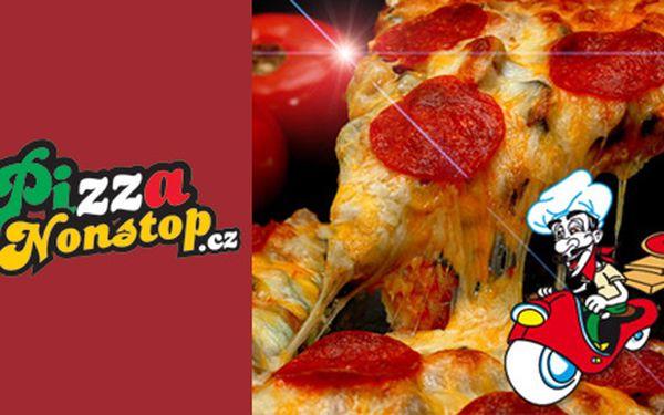 Udělejte si PIZZA mejdan u sebe doma! Pozvěte kamarády k sobě domů na pizzu dle Vašeho gusta! 2x pizza dle vlastního výběru s sebou za 119,-Kč