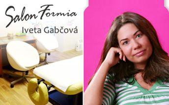 Salon Formia Iveta Gabčová Vám nabízí neodolatelnou slevu 50% z ceny neinvazivní liposukce.