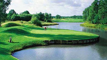 Neuvěřitelná sleva až 58%! Zaplaťte 12 lekcí golfu a jako bonus získejte zdarma 13. lekci, všech 13 vstupů na hřiště a navrch k tomu ještě míčky! To vše jen za 3.500 Kč!