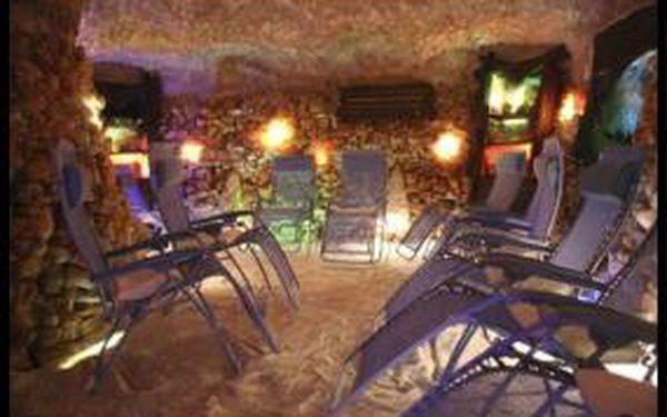 Užijte si 45 min relaxace v solné jeskyni za 70 Kč se slevou 50 %!