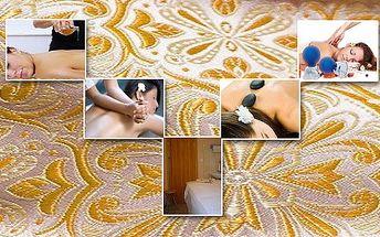 Pouhých 300Kč za hodinovou masáž dle vlastního vyběru: medová masáž, havajská masáž Lomi Lomi, masáž lavovými kameny, vakuová baňková masáž to vše s 50% slevou! Vánoční Dárek