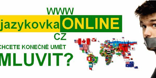 Skvělá sleva 50% na studium jednoho ze 41 cizích jazyků. Vyberte si z bohaté nabídky kurzů jazykové školy studiumONLINE.cz a naučte se konečně mluvit!
