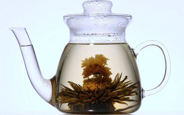 Luxusní dárková sada Kvetoucích čajů z řady Art Collection + Skleněná čajová konvička v ceně, to vše za 399,- Kč (+ navíc sleva 10% na celý sortiment na e-shopu).