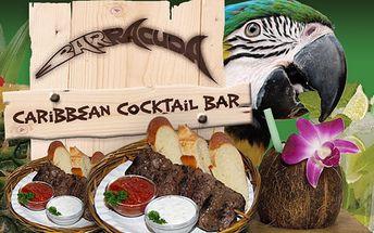 Menu pro dva v Barracuda Baru - Za pouhých 225 Kč menu pro dva v Barracuda Baru! Přivítáme Vás sektem s jahodovým pyré, namícháme Vám speciální exotický cocktail a na grilu připravíme šťavnaté masíčko dle Vašeho výběru!