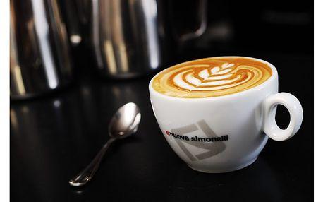 Dům kávy na Letné umí opravdu skvělé cappuccino