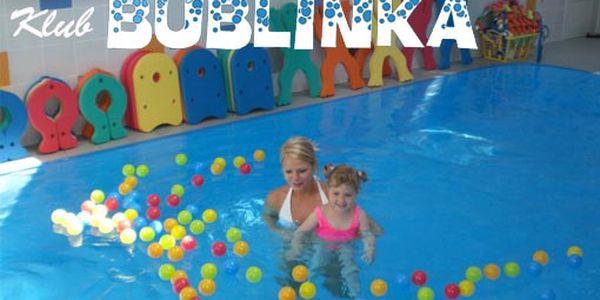 Bavte se i se svými dětmi (od 9 měsíců do 6 let) díky třem hodinám cvičení, říkanek a her v programu klubu Bublinka jen za 285 Kč. Super sleva 50%.