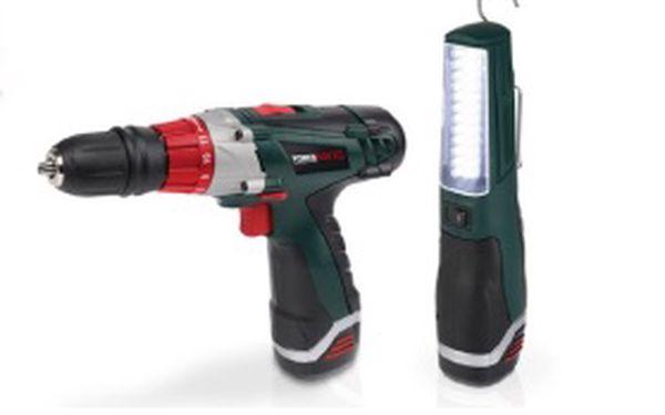 Využijte jedinečné možnosti získání profesionální a kvalitní Aku vrtačky se šroubovákem 12 V + LED lampou. Vše za jednu akční cenu 2499 Kč namísto 4990 Kč! V ceně je navíc zahrnuto poštovné a balné!