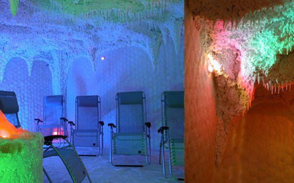 Neomezeně navštěvujte jeskyni ze 100% soli z Mrtvého moře se slevou 55%!! Potkejte i Mikuláše,místo 130 Kč zaplatíte pouhých 59 Kč!!