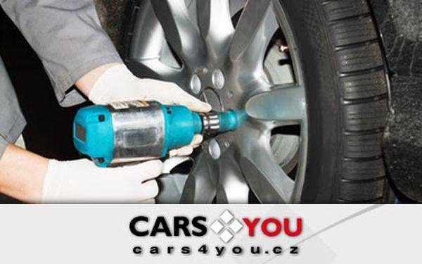 Na zimu, nebo na jaro! Přezutí 4 pneu alu disků včetně vyvážení a montáže v pneuservisu Cars4you jen za 399 Kč. Sleva až 58%. Poukazy lze využít i na jarní přezutí vozu!
