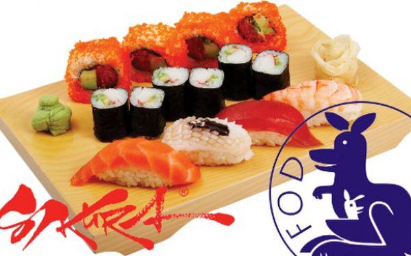 Přispějte na dobrou věc! Voucher v hodnotě 800 Kč jen za 399 Kč do všech Sakura Sushi barů! Zároveň podpoříte Fond ohrožených dětí.