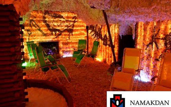 Dopřejte si relaxaci s ozdravnými účinky v solné jeskyni v relaxačním centru u Anděla nyní se slevou 45 %! Dvě procedury v délce 2x50 minut a dvě kávy nebo dva čaje jako dárek navíc jen za 165 Kč! Garantujeme Vám, že tato jeskyně je skutečně solná.