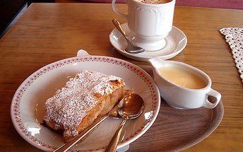 53% sleva na lahodné Cafe Carraro s domácím zákuskem pro dva!