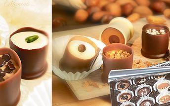 179 Kč za delikatesní belgické pralinky značky Noble Chocolates. Potěšte sebe nebo své blízké touto vyhlášenou pochoutkou. Perfektní vánoční překvapení v dárkovém balení navíc získáte se slevou 45%!
