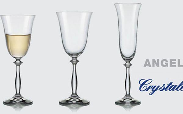 Sada 6 ks skleniček Bohemia Crystal jen za 179,-Kč. Chybí Vám vánoční dárky? Zařizujete si domácnost? Máte od každé skleničky jen jednu? :) Kupte si tyto krásné skleničky za výbornou cenu.