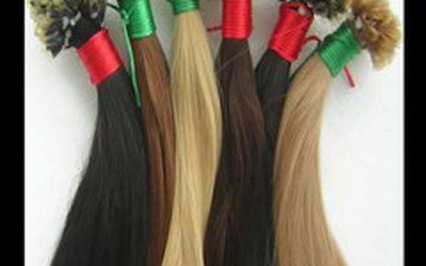 Chcete mít krásné, husté, dlouhé vlasy nebo extravagantní účes? Prodloužení a huštění vlasů - 100ks evropských pramínků se slevou 40% jen za 7200Kč!!!