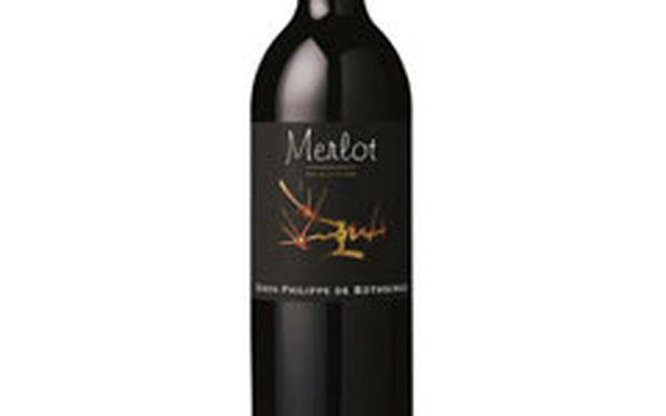 Vychutnejte si luxusní víno z Francouzského vinařství Baron Philippe de Rothschild se slevou 51%!!! Lahev dle výběru do vyprodaní zásob za 147 Kč/ks!!!