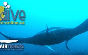 Základní kurz potápění pro začátečníky do 18 m OWD!
