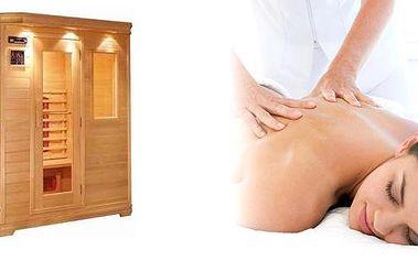 Dokonalý balíček relaxace! Dopřejte si pohodu a relaxaci v novém Relaxačním Studiu. InfraSauna, masáž dle výběru a koktejl! Neuvěřitelná sleva 60%. Uvolněte se po oslavách!