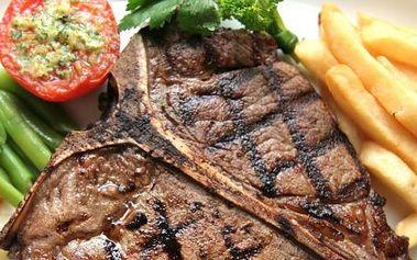 Naplňte si bříška na Chelsea. Libovolné jídlo v hodnotě 600 Kč za polovinu. Přijďte do steakhouse Chelsea a dejte si jakékoliv jídlo z nabídky s 50% slevou.