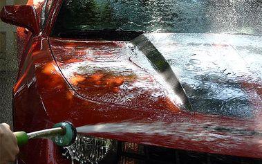 5 Komplexních mytí auta s dvousložkovým voskem s 62% slevou za pouhých 333 Kč