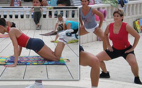 Neopakovatelná lekce aerobiku s Ing. Janou Česlíkovou vPraze, se zaměřením na tvarování problémových tělesných partií a školení o sportovní výživě za jedinečných 250 Kč!!!