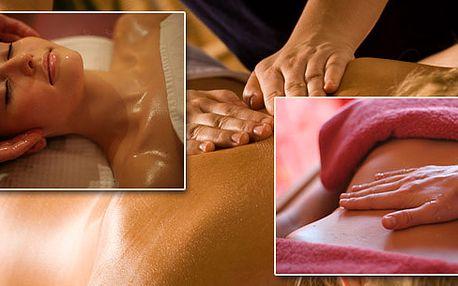 Exkluzivní regenerační a relaxační masáž celého těla trvající 2 hodiny!!! Zahrnuje speciální Indickou antistresovou masáž celé hlavy a obličeje. Nenechte si ujít!!!